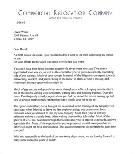thank you letter to employees for a job well done sample